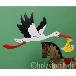 copy of Holzstorch fliegend – 58 cm