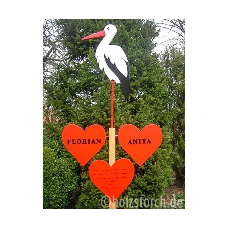 Hochzeitsbaum Storch