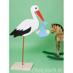 copy of Holzstorch mit Bodenplatte - 70 cm